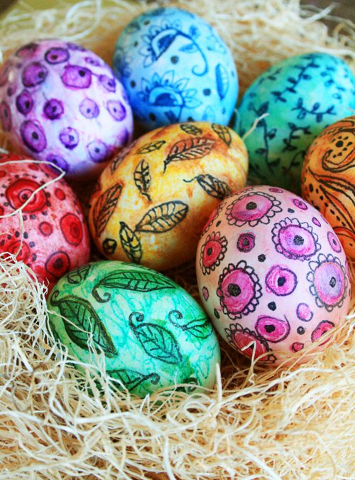 Count Down to Easter – Day 2 – Sweets, Games, Egg Dying  Copy